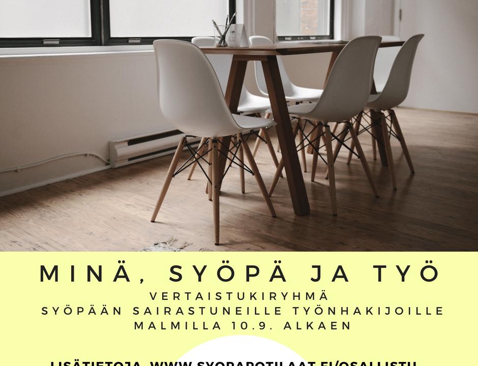 [Helsinki] Työmatka – vertaistukea työnhakijoille