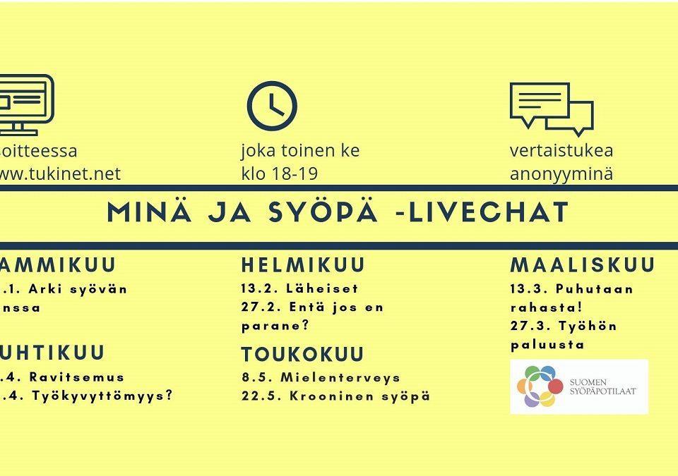 Minä ja syöpä -livechat: Työhön paluusta