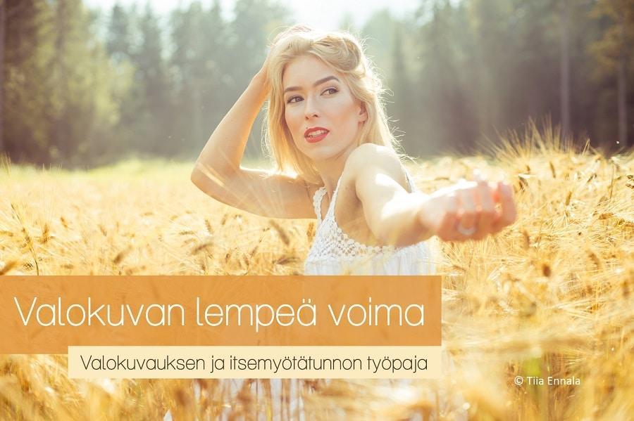 [Tampere] Valokuvan lempeä voima – valokuvauksen ja itsemyötätunnon työpaja