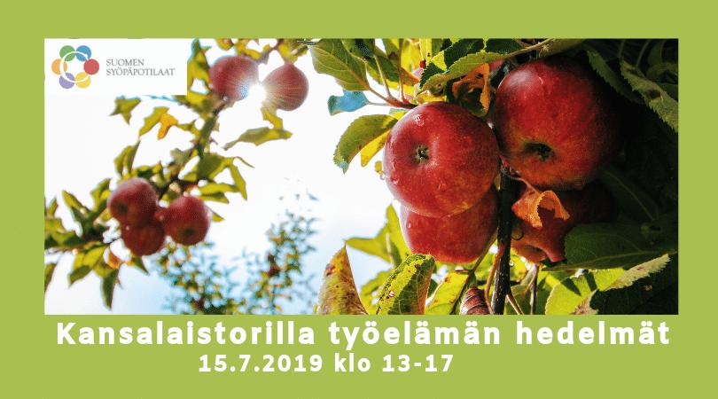 [Pori] SuomiAreenan Kansalaistorilla tapahtuu: työelämän hedelmät