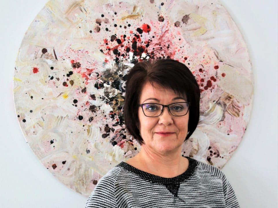 Panelistiesittelyssä Leena Vainio – SuomiAreena
