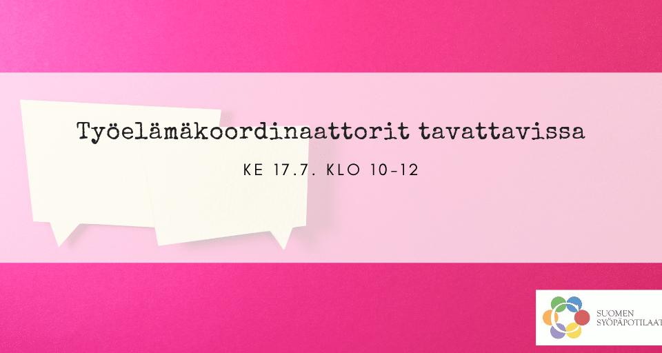 [Pori] SuomiAreenan Kansalaistorilla tapahtuu: työelämäkoordinaattorit tavattavissa