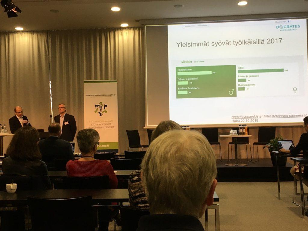 syöpä ja työ seminaari tuomo alanko ja visa kervinen yleisimmät syövät työikäisillä 2017