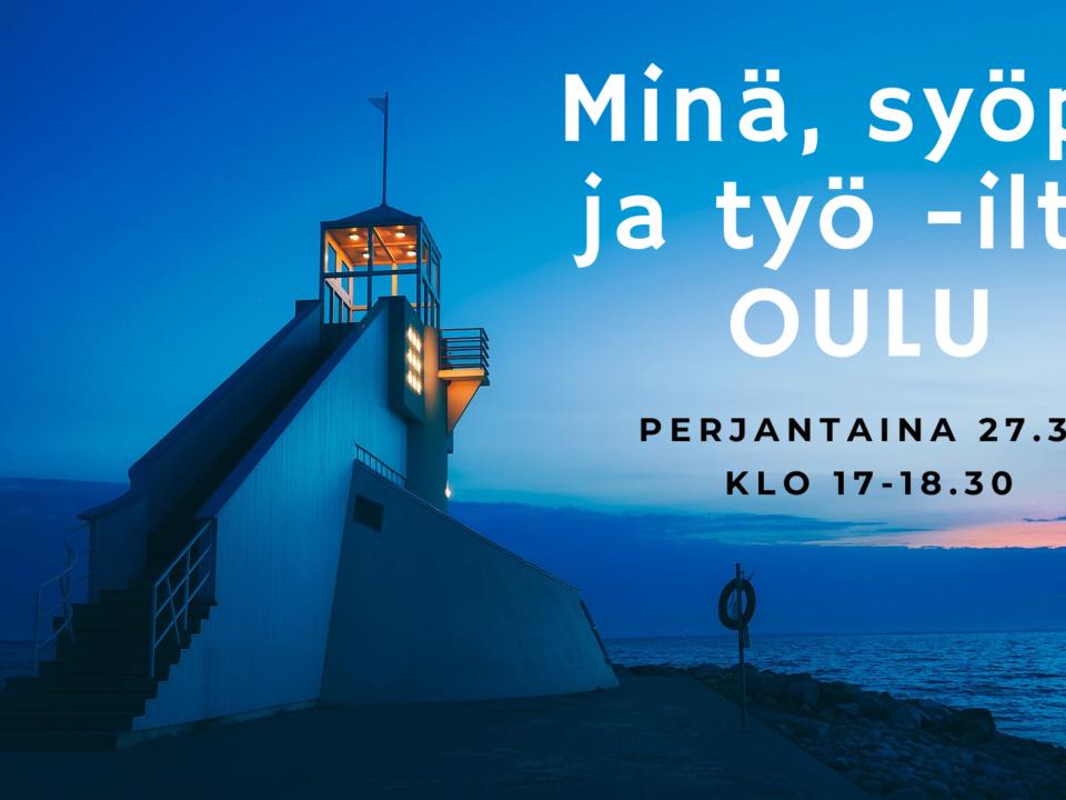PERUTTU [Oulu] Minä, syöpä ja työ -ilta