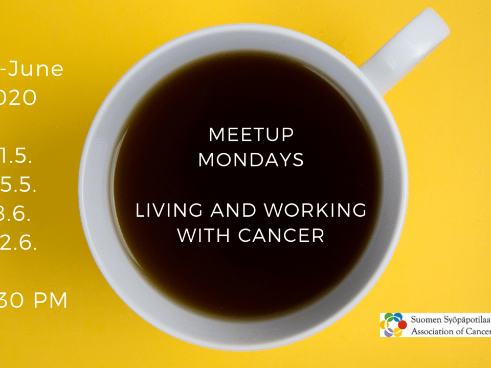 [Online] Living and Working with Cancer