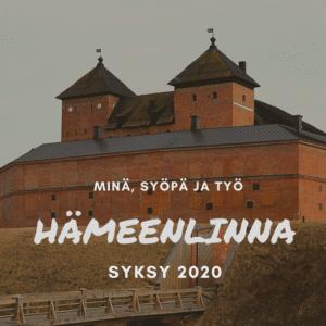 Minä, syöpä ja työ Hämeenlinna